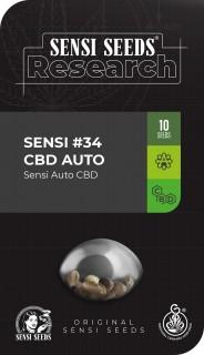 Sensi 34 CBD Auto