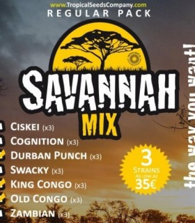 Savannah Mix - Regular Pack