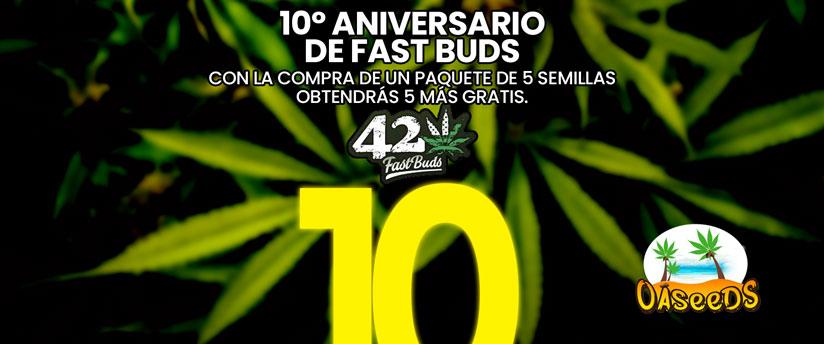 10 aniversario FastBuds